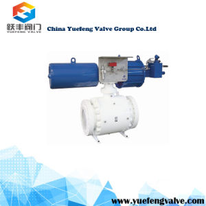 Pneumatic with Manual Ball Control Valve pictures & photos