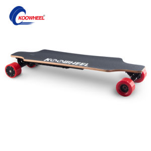 New 4 Wheel Electric Scooter High Quality E-Scooter Easy to Ride with Li-ion Battery Hoverboard Skateboard pictures & photos