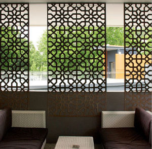Aluminum Perforated Laser Cut Outdoor Decorative Fence Screens
