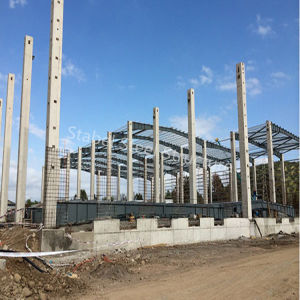 Light Steel Structure Warehouse for Colombia pictures & photos