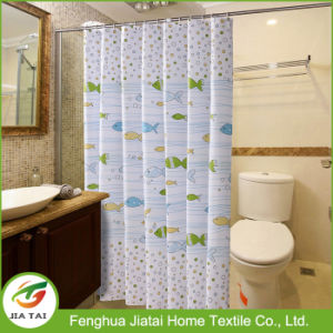 Custom Fish Printed Unique Kids Bathroom Shower Curtains
