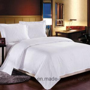 100% Cotton 300tc Plain White Textile Hotel Bedding