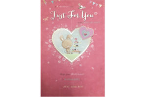 Birthday Card, Planted Card, Postcard, Valentine′s Card