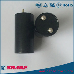 Aluminum Eelctrolytic Capacitor with Mounting Frame pictures & photos