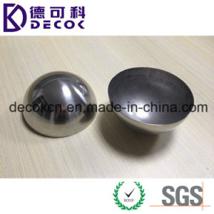 Hollow 304 Stainless Steel Half Sphere 1inch 2 Inch 3 Inch Bath Bomb Mold