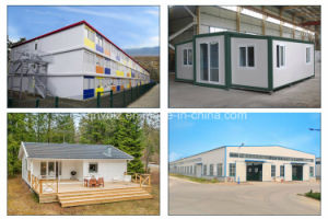 Commercial ISO Light Steel Prefabricated/Modular/Mobile/Prefab/Container House pictures & photos