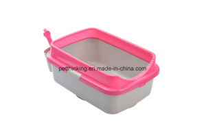 New Large Cat Litter Box Also for Fat Cats Use with Scoop and Holders, Big Size Cat Litter Box pictures & photos
