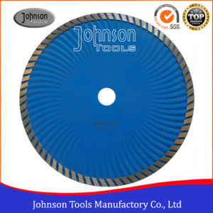 230mm Granite Cutting Blade Diamond Turbo Wave Saw Blade for Cutting Stone pictures & photos