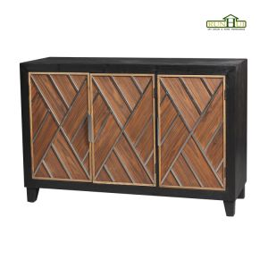 Dusk Three Doors Wooden Cabinet Home Furniture