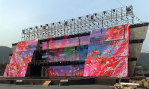 Full Color Outdoor Advertising P6 LED Display Screen Cabinet