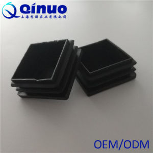 China Plastic Square Covers For Furniture Foot Table Chair Leg