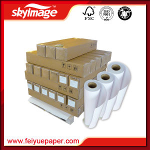 105GSM 1, 320mm*52inch Sublimation Paper Roll High Release for Inkjet Printing pictures & photos