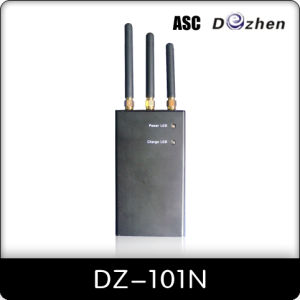 GSM /CDMA /PCS /DCS /3G Portable Cell Phone Jammer ( DZ-101N )