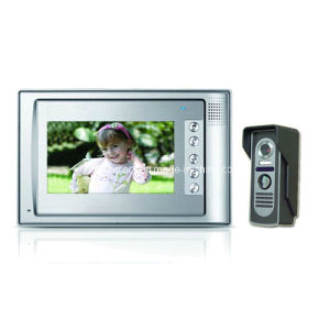 7 Inch Digital HD Color Video Door Phone with Outdoor IR Nightvision 600tvl Camera (RX-701C8)