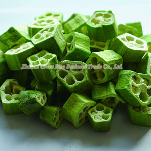 Dehydrated Freeze Dried Okra for Frozen Dried Vegetables