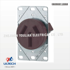 China 50A Flush Mounting Power Receptacles - China 50a Flush ...