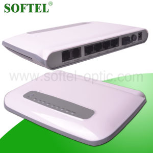 FTTH 1 Pon Interface 4 10/100Mbps Gepon ONU pictures & photos
