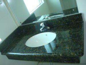 Granite Vanity Tops (Butterfly Green)