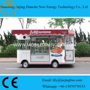 Popular Baking Food Truck for Sale with Displaying Cabinet (CE) pictures & photos