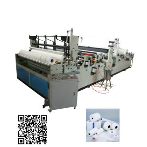 Automatic Jumbo Roll Toilet Paper Maxi Roll Making Machine pictures & photos