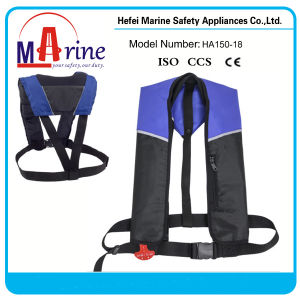150n Watersport Inflatable Life Vest pictures & photos