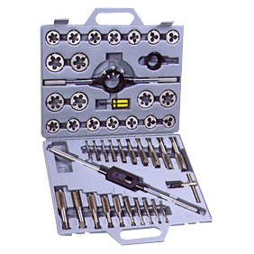 45PCS-3 Metric Tap and Die Set, Alloy Steel