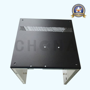 Customized Powder Coated Aluminum Sheet Metal Fabrication Cover pictures & photos
