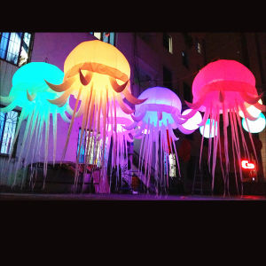 Beautiful Inflatable Jellyfish Star for Event Decorations