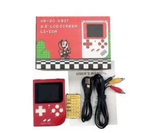 GB20 Station Light Boy Sp Pvp Handheld Game Player 8-Bit Game Console with  Bulit-in 168 Games Retro