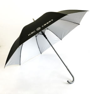 Custom Windproof Golf Umbrella, Aluminum Alloy Middle Stick, Can Open Automatically, Used for Promotion / Gift / Activity Umbrella