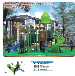 2014 Kindergarten Outdoor Playground with TUV Certificate (QQ-MN013) pictures & photos