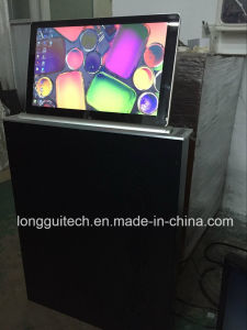 Ultra Slim 17inch LCD Lift with Monitor pictures & photos