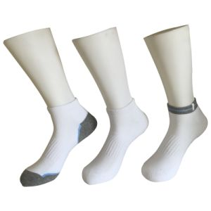 Half Cushion Cotton Fashion Outdoor Sport Ankle Socks (JMCOD10) pictures & photos
