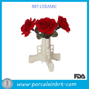 Solid Gun Design Ceramic Flower Vase pictures & photos