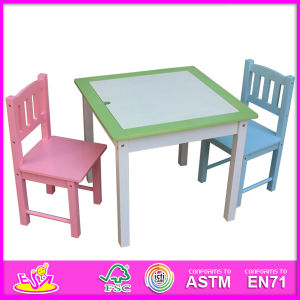 Hot New Product for 2015 Dining Table and Chair, Fashion Wooden Table and Chair Set, High Quality Dining Table and Chair W08g104 pictures & photos