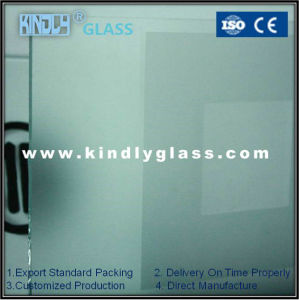 4mm Two Layers Acid Etched Tempered Glass
