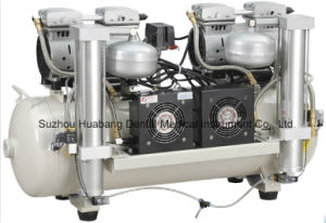 Dental Compressor with Air Drier and Air Cooling