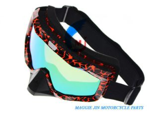 Motorcycle Accessories Motorcycle Goggles of Single Colorframe pictures & photos