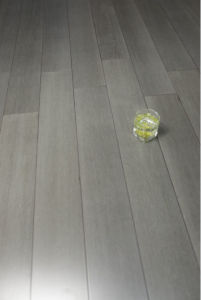 2015 Good Price Beautiful Light Grey Color Strand Woven Bamboo Flooring