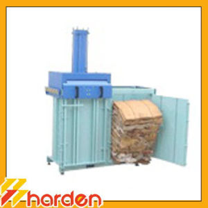 Two Chamber Vertical Baler for Cardboard Recycling