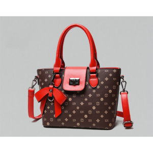Fashionable Wholesale Women Handbags with Bow Knot Decoration