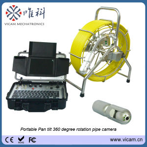 360 Degree Rotation Pan Tilt Pipe Sewer Camera (V8-3388PT) pictures & photos