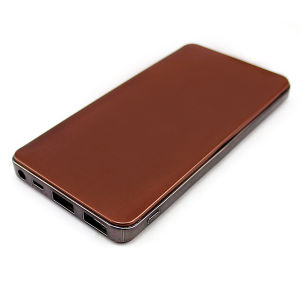 10000mAh Metal Power Bank Compact Portable Charger 10000mAh pictures & photos