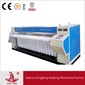 Bed Sheet Steam Ironing Machine/Steam Heated Double Rollers Flatwork Ironer Price pictures & photos