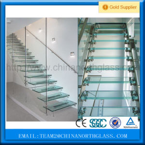 Hot Sale 12mm Thick Tempered Laminated Balustrade Glass pictures & photos