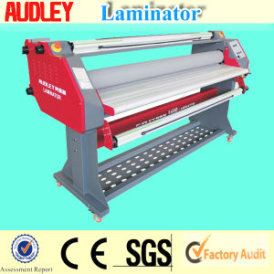 Audley Pneumatic Hot and Cold Lamination Machine with CE 160cm pictures & photos