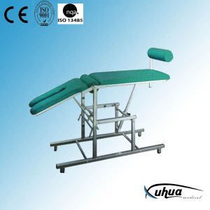 Stainless Steel Hospital Medical Gynecological Bed (H-3) pictures & photos
