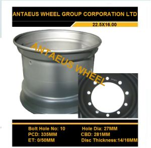 Tubless Wheel 22.5x16.00