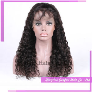 Adjustable Glueless Kinky Curly Full Lace Wig Silicone Wig Cap pictures & photos