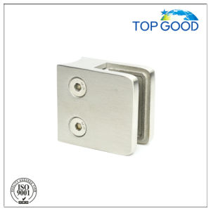 70*55*40mm Stainless Steel Satin Square Glass Clamp